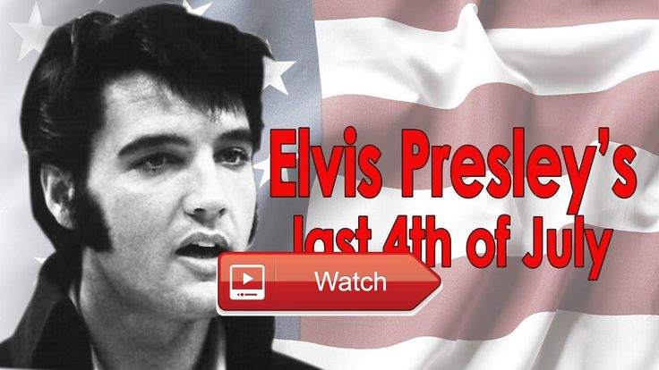 Elvis Presley's last th of July With RARE PHOTOS  How Elvis spent his last July th with Rare photos of Elvis celebrating Independence Day at Graceland in 1
