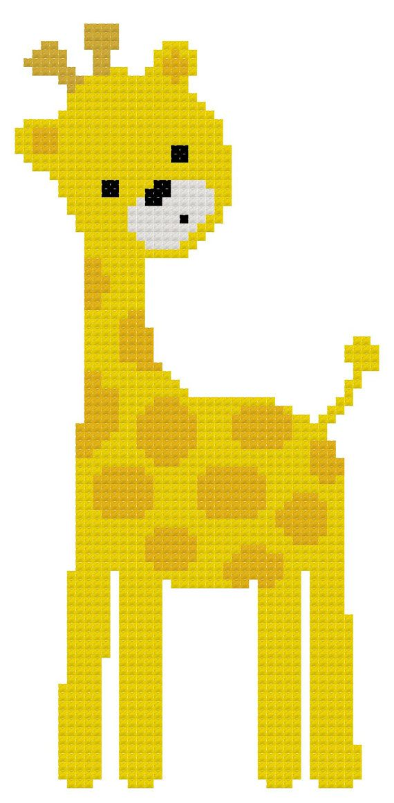 Cross Stitch Pattern of Cute Jungle Animals by threadsandthings1