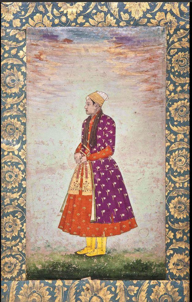 The Eunuch Khawas Khan. Bahadur Shah I era. Late 17th Century. Christie's
