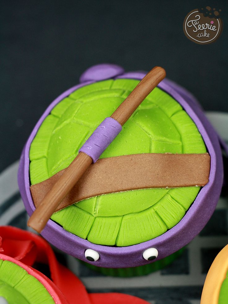 17 meilleures id es propos de cupcakes des tortues ninja - Voiture des tortues ninja ...