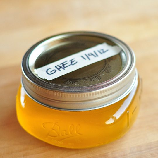 How to make and store ghee.  This would be useful because I have NO IDEA where to buy ghee in Atlanta.