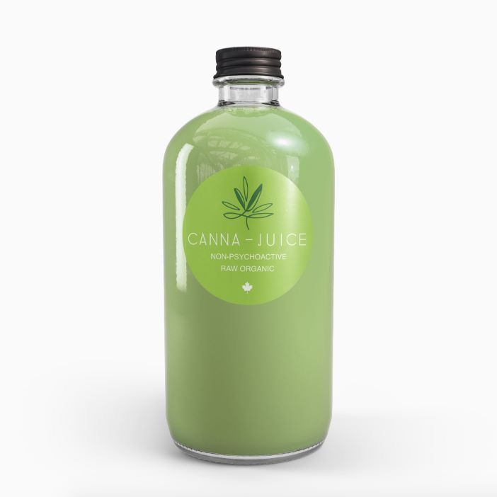 Mock-up of a label we made for medcanbc.com, for their cannaboid juice, raw and organic, cold-pressed. #riskcreative #cannabis #bcdesign #yyj