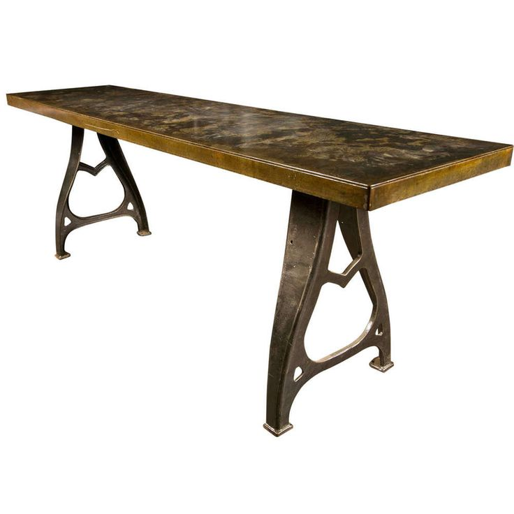 17 Best Ideas About Wrought Iron Table Legs On Pinterest Hairpin Leg Coffee Table Farm Tables