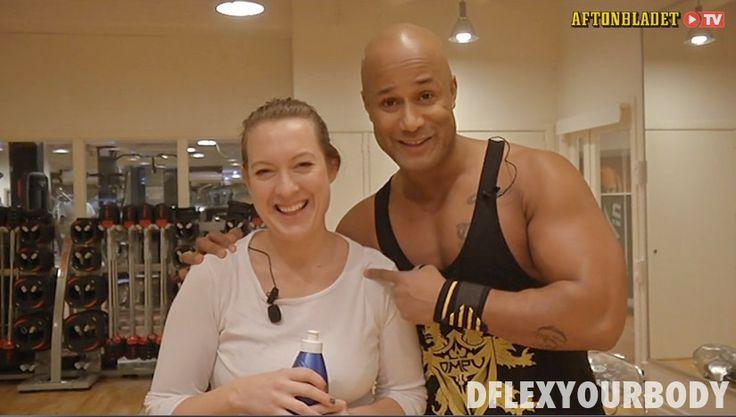 Kom i gång träning med David Dflex Seisay på Aftonbladet TV.