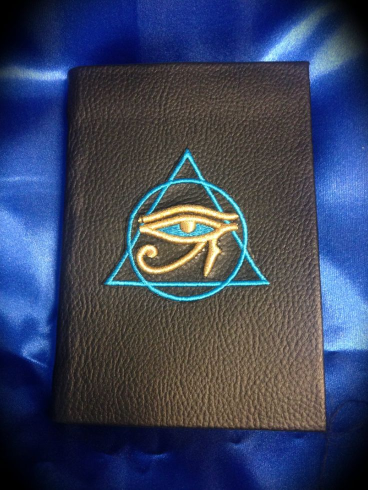 "Libro delle Ombre ""The Mystic Eye of Horus"" di LittleSorcerer su Etsy"
