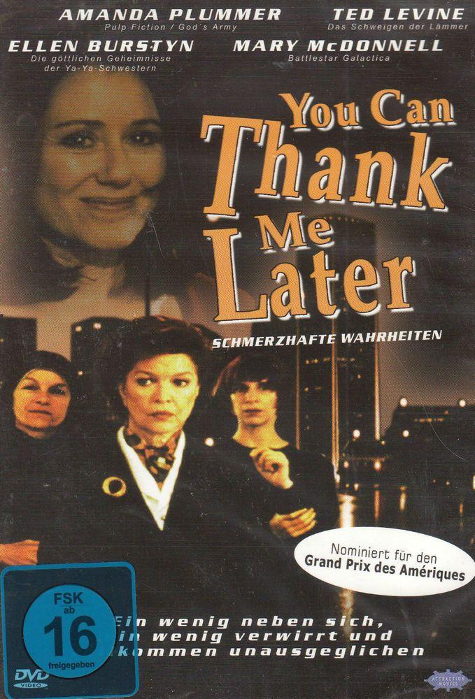 DVD NEU/OVP - You Can Thank Me Later - Schmerzhafte Wahrheiten - Amanda Plummer  | eBay