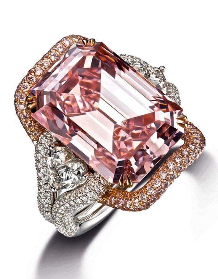 Chow Tai Fook Pink Diamond Ring