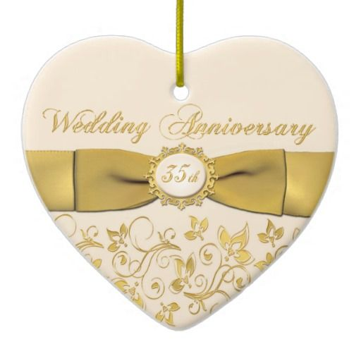 35th Wedding Anniversary Symbol 35th Wedding Anniversary Coral