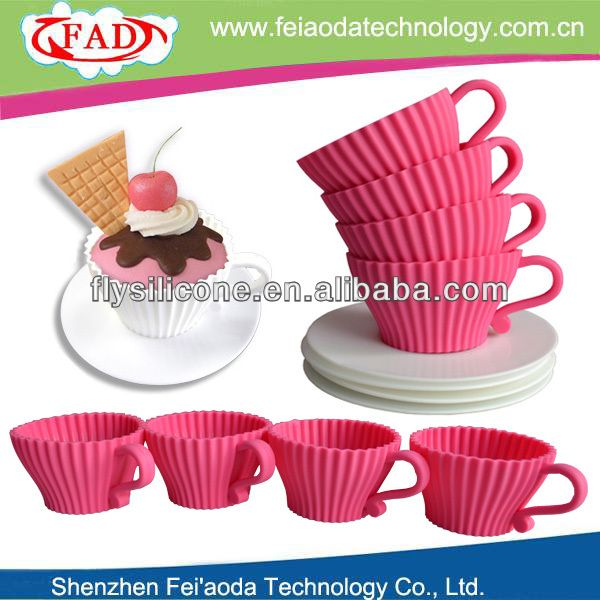 Afternoon Tea Cupcake Non-stick Silicone Cupcake Liners - Buy Cupcake Liners,Mini Cupcake Liners,Cupcake Wrapper Product on Alibaba.com
