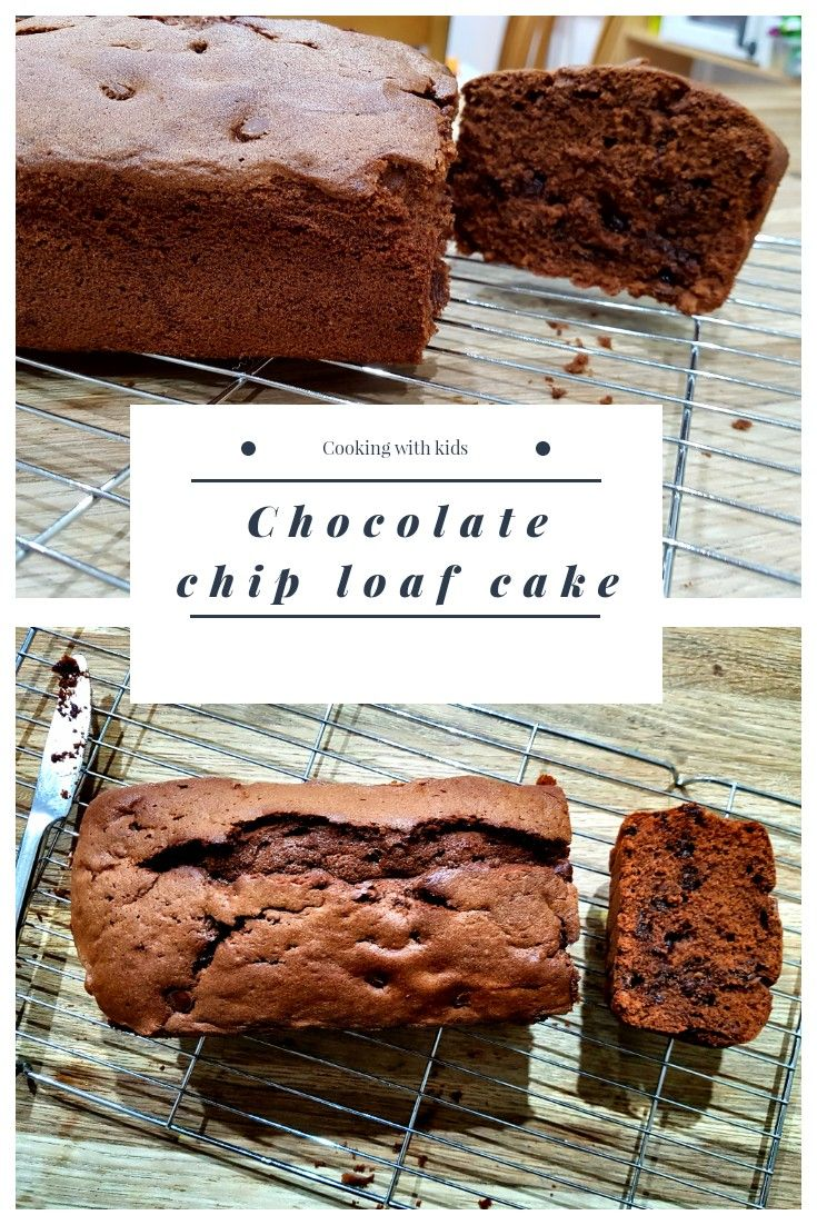 A Rich Chocolate Loaf Cake Loaded With Chocolate Chips Cake