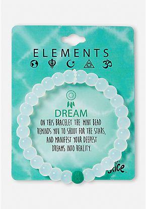 Elements Beaded Silicone Bracelet