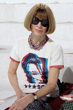 Hillary Clinton T Shirts Marc Jacobs Anna Wintour New York Fashion Week (Vogue.co.uk)