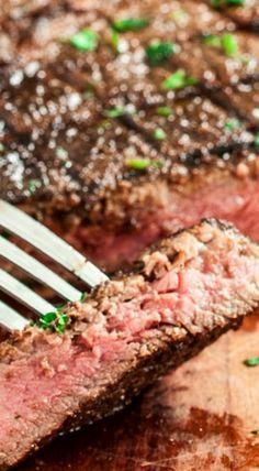 Garlic Marinated Ribeye Steaks