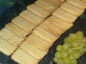 Фото к рецепту: Печенье Юбилейное по ГОСТу