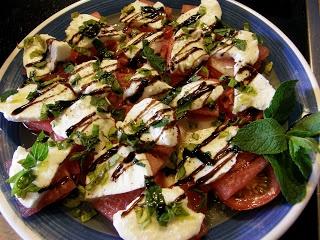 Wassermelonen Caprese mit Walnüssen  #glutenfrei #glutenfree