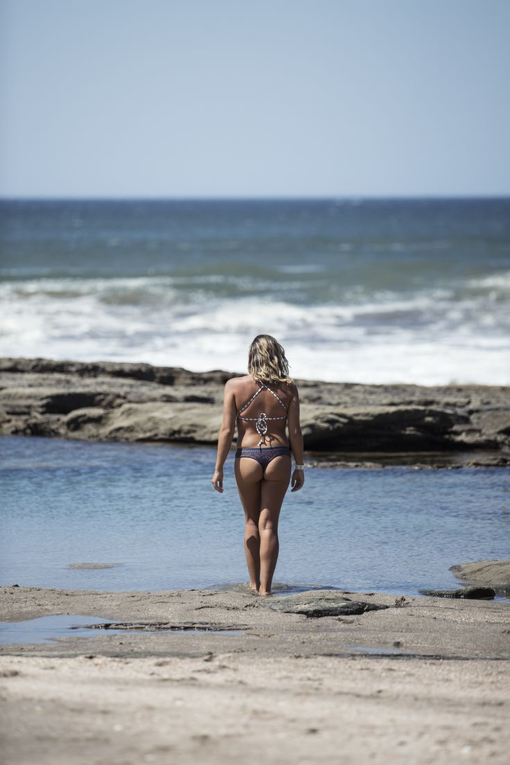 Girl day out at the tidal pool somewhere in Nicaragua.   #tidalpool #ocean #girl #bikini #summer #paradise #wanderlust #travel