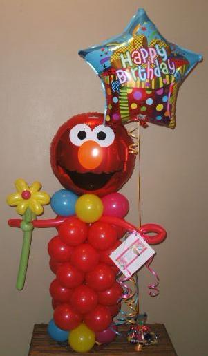 Elmo balloon character characters tulsa area
