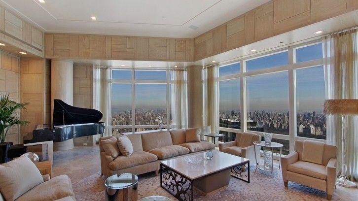 纽约时代华纳中心的奢华顶楼   #LuxuryEstate #纽约 #美国 #豪华房产 #豪宅出售