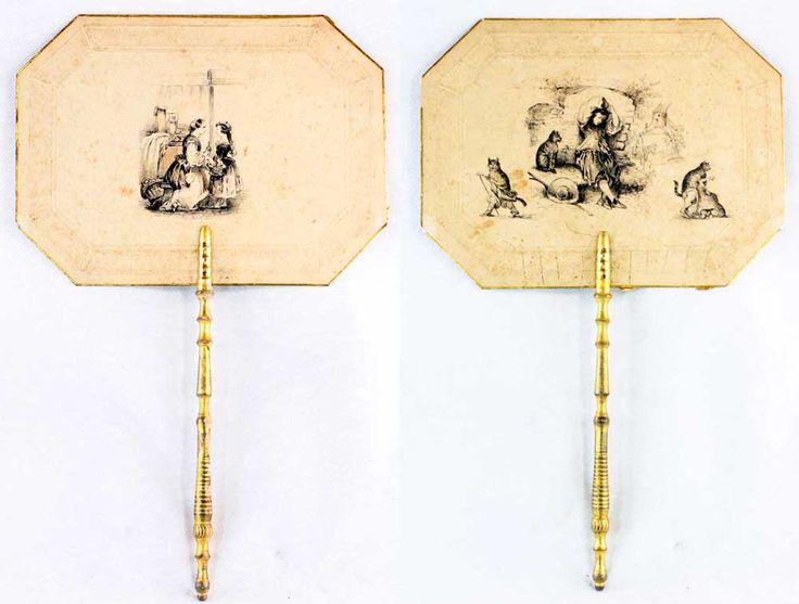 Paire d'écran XIXème CHAT BOTTE, L'orangerie, Proantic