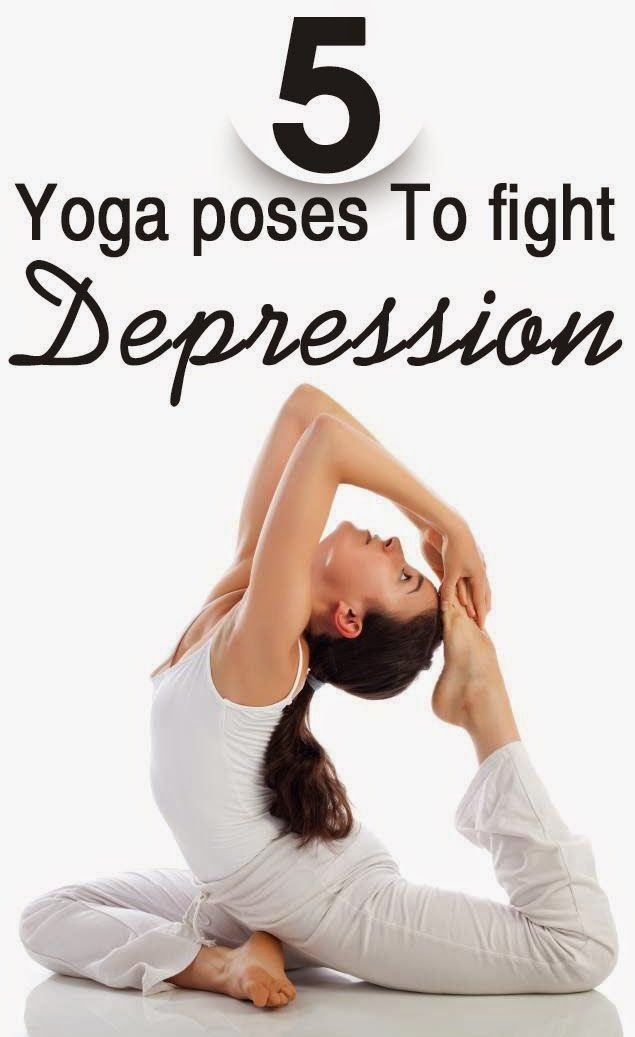 5 Yoga Poses That Will Help You Fight Depression | Fit Villas