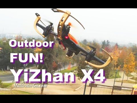 YiZhan X4 Quadcopter Outdoor Fun! You can get it cheap here : http://shrsl.com/?~8sch    or here: http://shrsl.com/?~8scj Spare parts an quadcopter gold or black and white here: https://www.banggood.com/buy/Yi-zhan-x4.html?p=MK04211202332201502Q