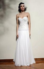Wedding Dress by Elena Vorrea Sheath Wedding Dress
