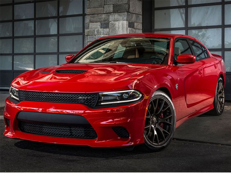 Dodge Charger Hellcat SRT8 Hood 2015- 2017