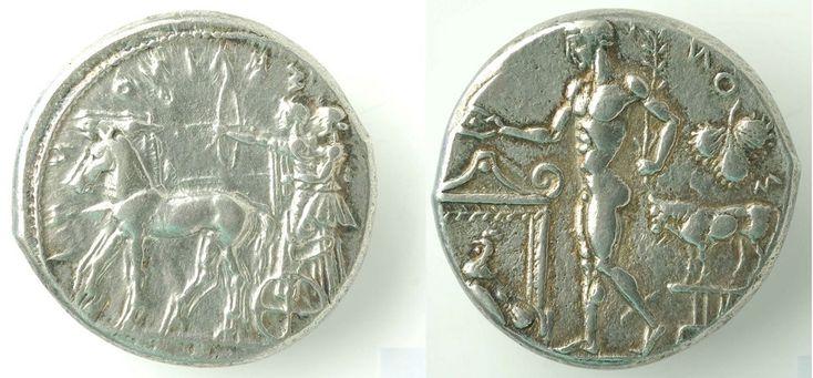 Prima della venuta dei Romani, in Sicilia erano presenti diversi insediamenti: Greci, Cartaginesi, Fenici e autoctoni della Penisola, alcuni dei quali, han