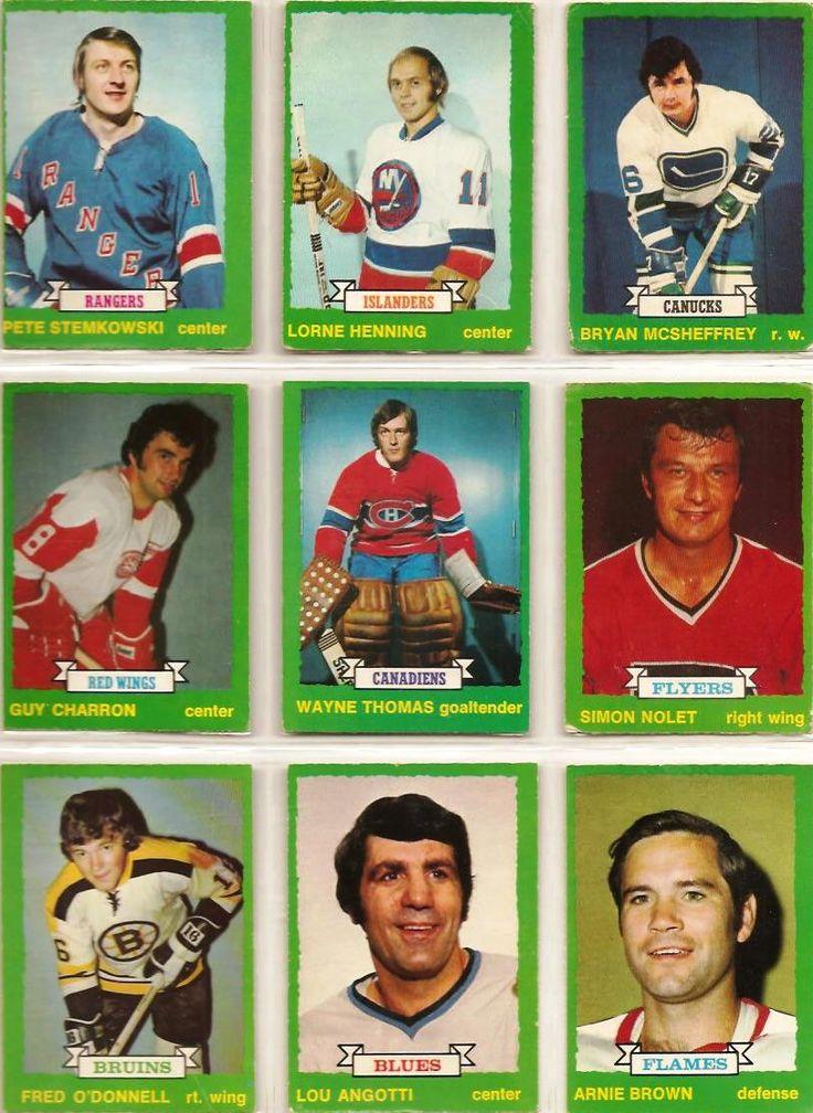 217-225 Pete Stemkowski, Lorne Henning, Bryan McSheffrey, Guy Charron, Wayne Thomas, Simon Nolet, Fred O'Donnell, Lou Angotti, Arnie Brown
