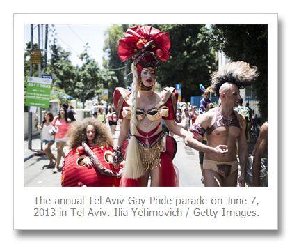 Israel's Tel Aviv holds annual gay pride parade