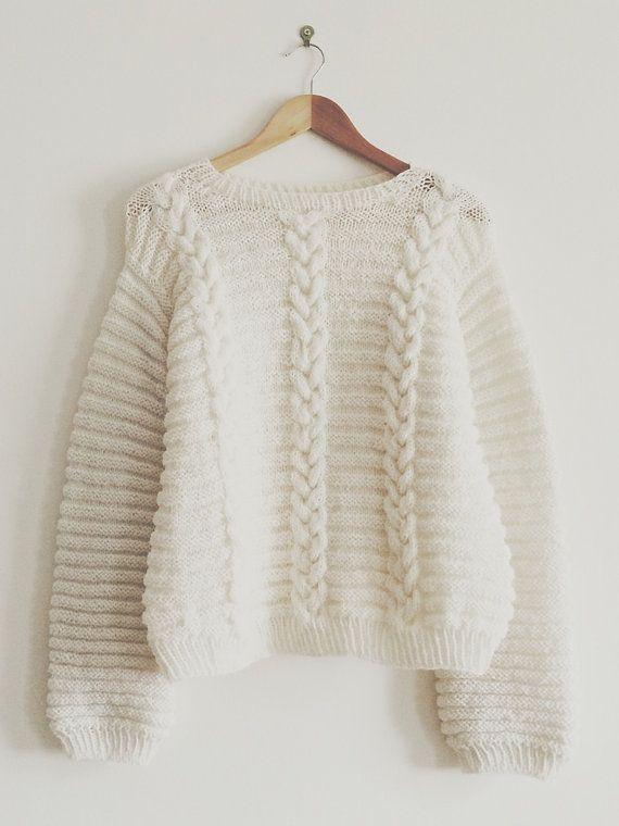 Sweater BETTY WHITE Taille unique- M Patron en francais et en anglais - 2 PDF  Tous les produits sont proposés au format numérique PDF que vous