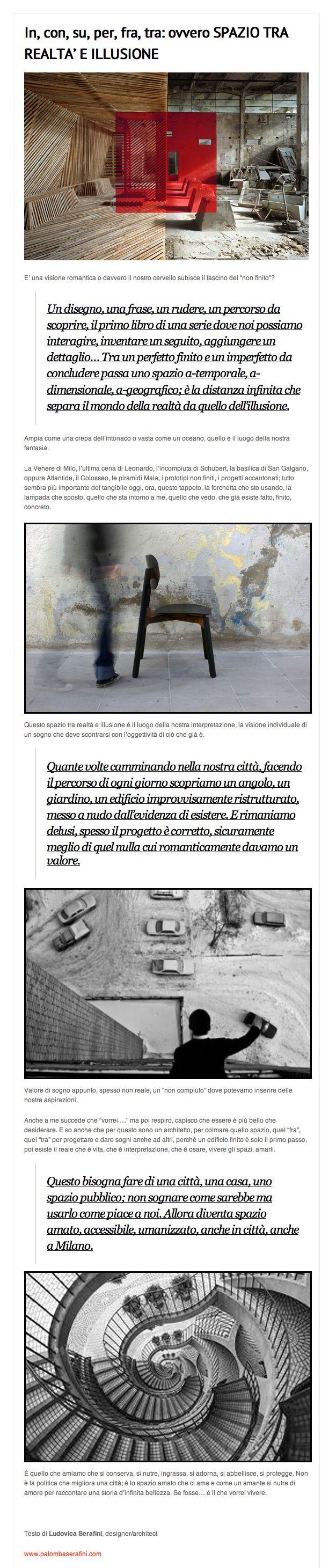 September 16th 2013   Ludovica Palomba #blog for @casatrend+   http://www.casatrendmag.it/1532/