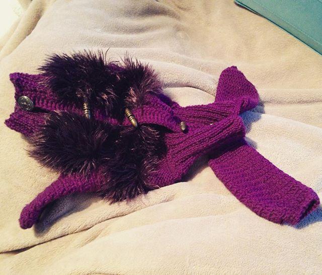 #knittingfordog #clothfordog