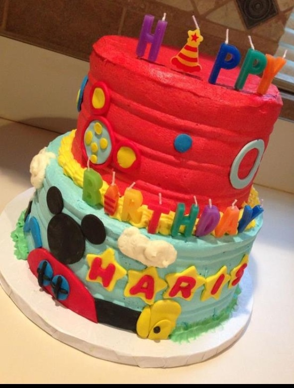 Good Mickey mouse clubhouse cake