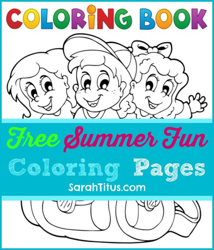 271 best Coloring Page For Kids! images on Pinterest | Kids coloring ...