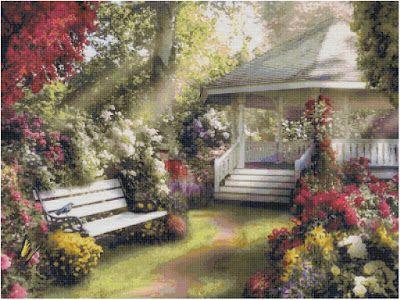 Professione Donna: Schema a punto croce: Paesaggio_118