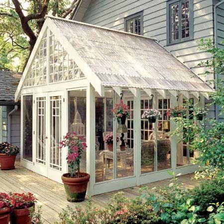 Glass Room greenhouse idea
