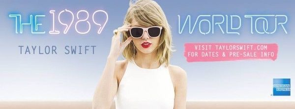 2 Taylor Swift Concert Tickets Charlotte, NC 6/8/15 Section 105 Row E