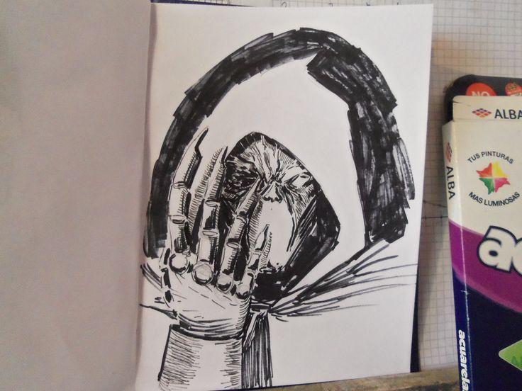 #Blancoynegro #Dibujo #Arte #Fotografía #CarlosBenitez #Pecariestudio