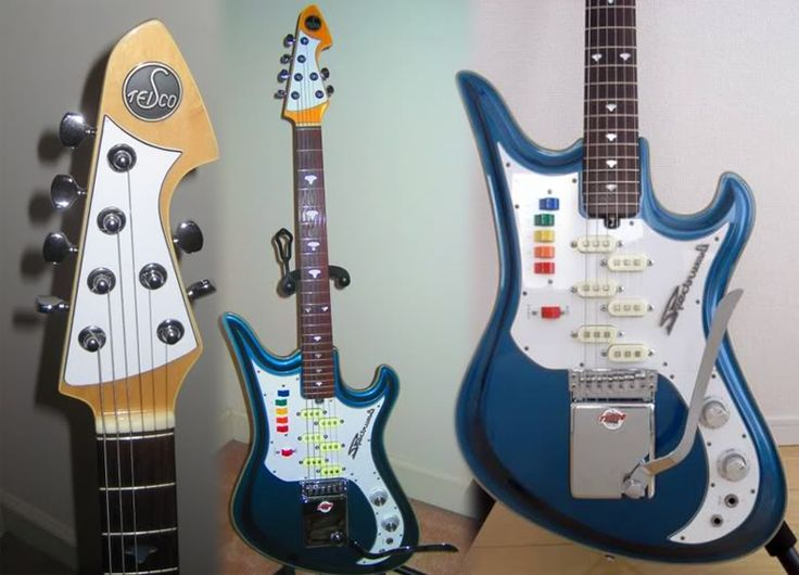 1000 images about dream team guitar for some reason i could have sworn that we d previously featured the teisco spectrum 5 on guitarz but i cannot fin