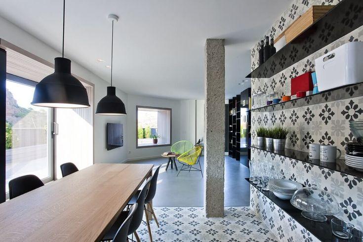 Stile urbano contemporaneo per un appartamento spagnolo
