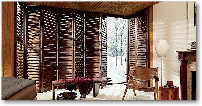 45 best images about deck re do on pinterest - Hunter douglas interior shutters ...