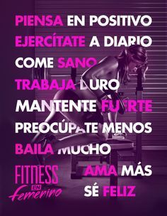 motivacion fitness español - Buscar con Google
