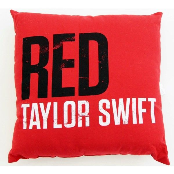 """Check out the deal on RED Logo 28""""x28"""" Floor Cushion at Taylor Swift Official Online Store"""