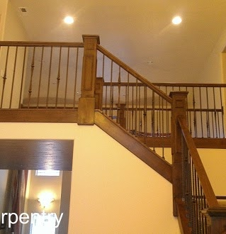 Beautiful A Stair Railing We Just Remodeled In Draper Utah.
