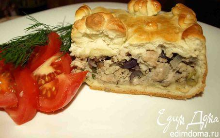 Пирог со свининой и красным луком | Кулинарные рецепты от «Едим дома!»