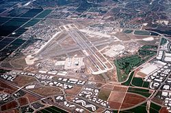 Marine Corps Air Station El Toro was a United States Marine Corps Air Station located near Irvine, California.  before it was decommissioned in 1999. It was my jumping off point enroute to Vietnam in 1965