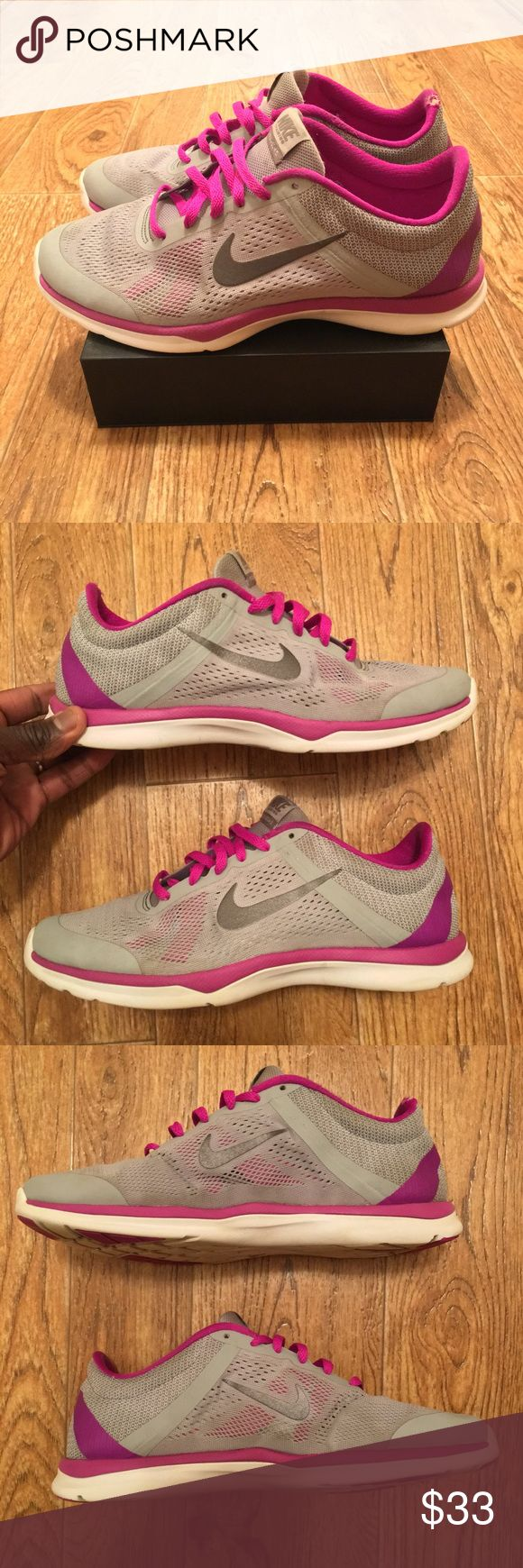 [Nike] In Season 5 Wmn Running Shoes (used) Size 9 Used Nike In Season 5 women's running shoes, good condition overall, small damage on heel of right shoe (see photos). Women's size 9. **Offers Accepted**       |161| Nike Shoes Sneakers
