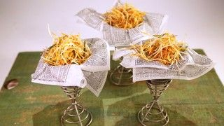 Shoestring Fries with Garlic and Rosemary Recipe | The Chew - ABC.com