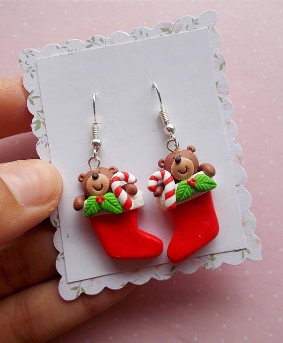 Christmas Earrings Birthday Gift Earrings Festive Earrings